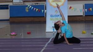 Велислава Нунева - трето място във възр. гр. 8-12 г, стил  съчетание на асана