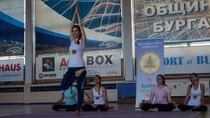 Радостина Атанасова - второ място във възр. гр. 26-35 г, стил  асана