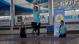 Дема Чолакова - първо място във възр. гр. 13-17 г, стил  асана